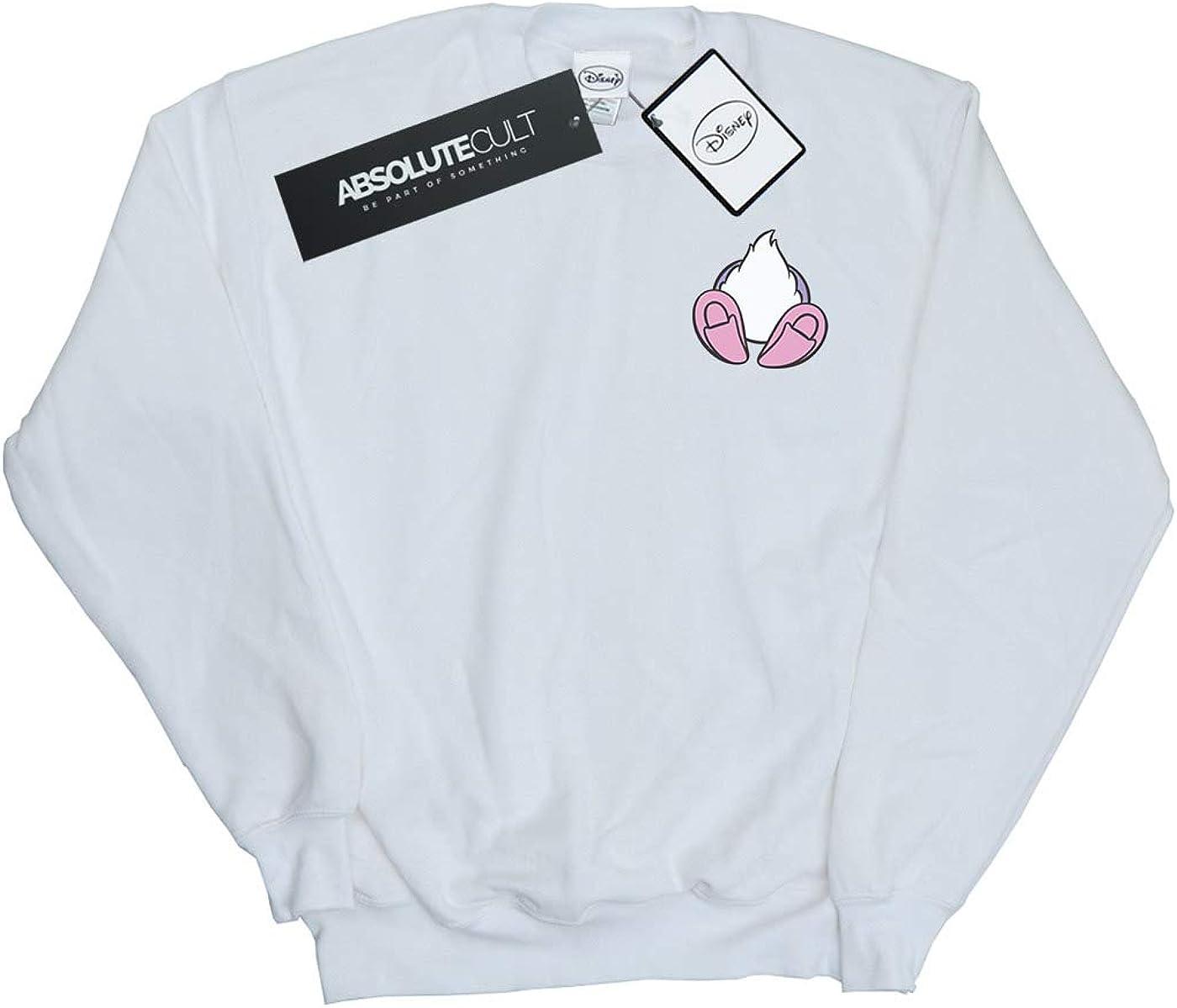 Disney Girls Daisy Duck Backside Breast Print Sweatshirt