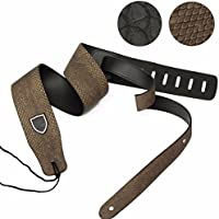 New Guitar Strap Adjustable Guitar Electric Bass Thick Leather Python Skin Pattern By KTOY