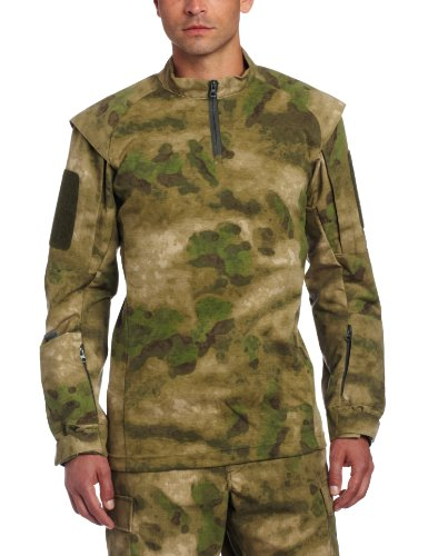 Fg Camo (Propper Men's TAC.U Combat Shirt, A-TACS FG Camo, Medium Regular)