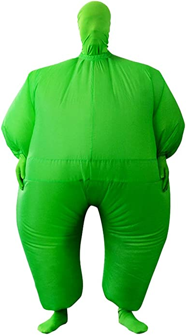 Adult Inflatable Full Body Jumpsuit Cosplay Costume Halloween Funny Fancy Blow Up Costumes for Party Dress