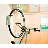 Delta Cycle Dali Bicycle Storage Rack Hook Garage Holder, Silver, One Size