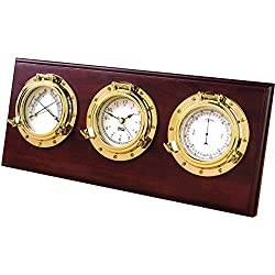 WEEMS & PLATH Porthole Collection Weather Center