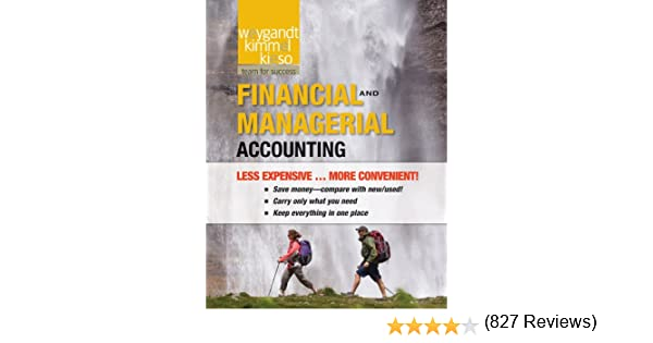Financial and managerial accounting jerry j weygandt paul d financial and managerial accounting jerry j weygandt paul d kimmel donald e kieso 9781118016114 amazon books fandeluxe Gallery