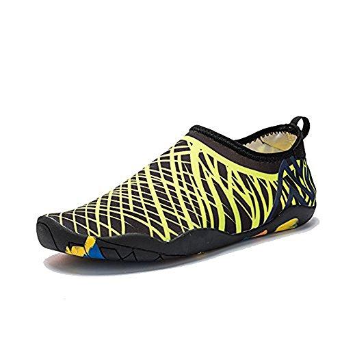 Water Beach Diving for Quick drying Shoes Yoga Wading I Socks Swim Surf EN Yellow FR Aqua Exercise ExB8qnwzUv