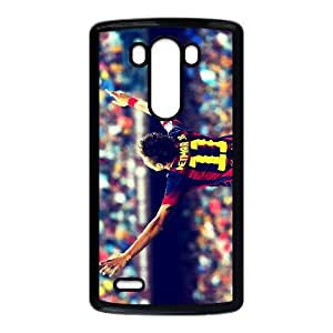 LG G3 Phone Case,Neymar Da Silva Classic Sports Background Graphic Design, Drop And Dust Personalized Fashion Phone Case(Hard shell,Black)