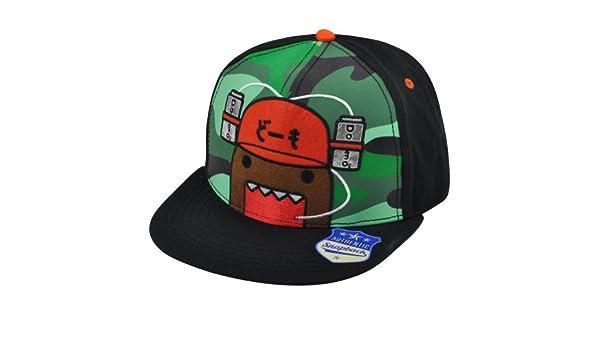 Domo cara Copa gorra animación snapback carácter japonés soporte de Bill  sombrero gorra  Amazon.es  Ropa y accesorios 19274ba928e