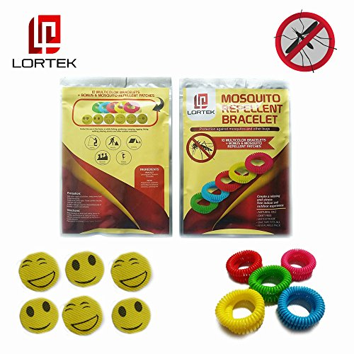 10-mosquito-repellent-bracelets-6-patches-deet-free-100-natural-oils-waterproof-wristband-bug-insect