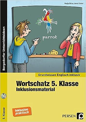Wortschatz 5. Klasse - Inklusionsmaterial Englisch Grundwissen ...