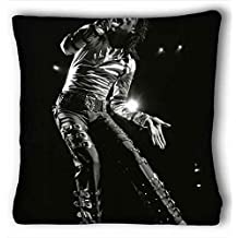 Custom Cotton & Polyester Soft ( Michael Jackson ) Pillowcase Cushion Cover Design Standard Size 20x36 inches One Sides suitable for King-bed