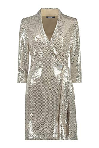 Roman Originals Vrouwen Pailletten Feestjurk – Dames Party Occasionwear Kerstmis Nieuwjaar Glam Disco Sparkle Glitter…