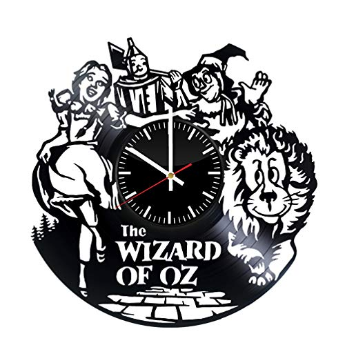 The Wizard of Oz Unique Wall Clock for bedroom, bathroom, kitchen, livingroom – gift idea for birthday, wedding, Mother's Day, Valentine's Day ()