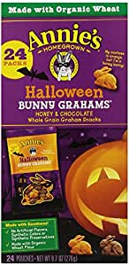 Annie's Homegrown Halloween Bunny Graham Pack, 9.7-Ounce