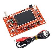 "Laqiya DSO138 2.4"" TFT Digital Oscilloscope 1Msps + Probe Analog Bandwidth (Welded)"