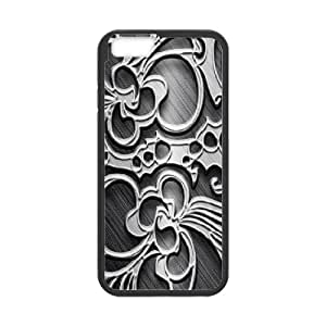 Cathyathome Metal Engraving IPhone 6 Plus Cases, [Black]