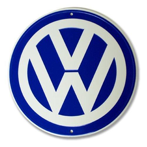 VW Logo Garage Sign