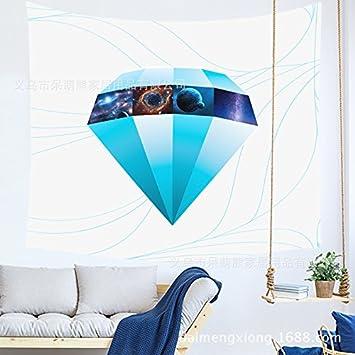 WALLhang Inicio Personalidad de la Tela Creativo Colgante geométrico Tapiz Papel Tapiz de Pared Yoga Toalla de Playa Muebles para el hogar, HU-241,150 * 102 ...