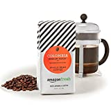 AmazonFresh Colombia, 100% Arabica Coffee, Medium Roast, Whole Bean, 12 Ounce, Pack of 3