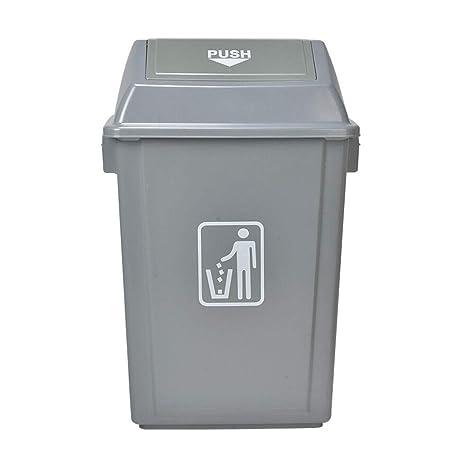 Cubos de basura for interior/exterior plástico cuadrados ...