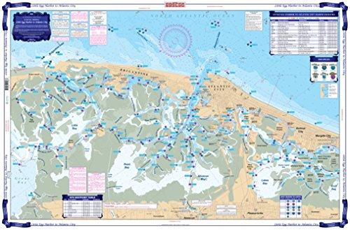 Waterproof Charts, Coastal Fishing, 156F Little Egg Harbor To Atlantic ()
