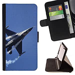 DEVIL CASE - FOR Samsung Galaxy A3 - Fighter - Style PU Leather Case Wallet Flip Stand Flap Closure Cover