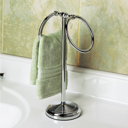 Countertop Towel Ring : ... - Gatco 1454C Countertop Towel Ring, Chrome carousel main 1