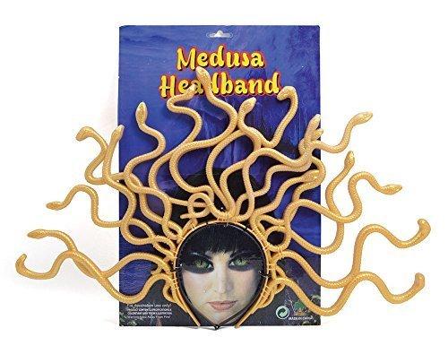 Medusa Headband Headwear Accessory for Roman Greek Mythology Fancy Dress Headwear by Partypackage (Roman Head Wear)