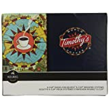 Timothy's World Coffee Colombian Excelencia K-Cup Portion Pack for Keurig Brewers 96-Count