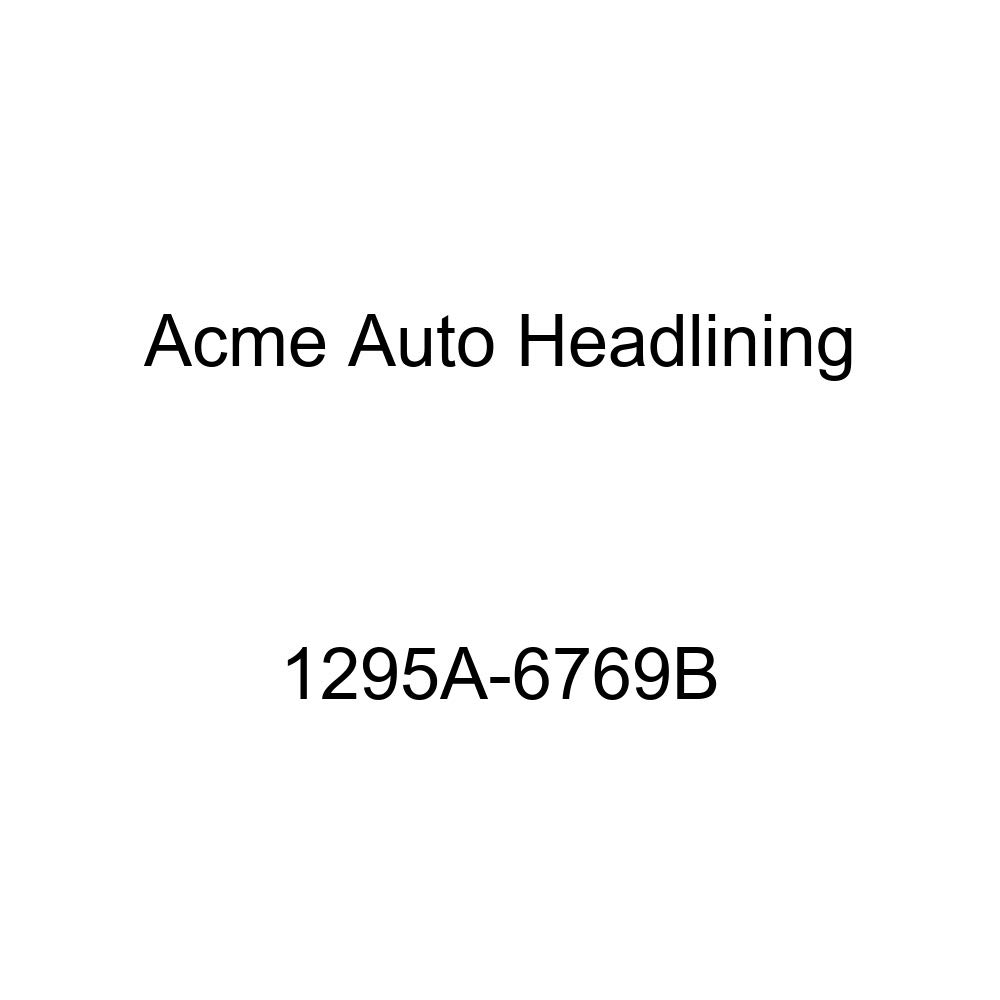 Acme Auto Headlining 1295A-6769B Black Replacement Headliner 1960 Oldsmobile Super 88 4 Door Sedan 7 Bows