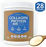 Bovine Collagen Protein Powder YOURGANICS | Keto & Paleo Friendly, Hydrolyzed Collagen Peptides | Grass-Fed, Pasture Raised, Non GMO, Non Dairy, Gluten & Sugar Free, Unflavored (20oz Bottle) For Sale