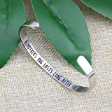 Joycuff Mom Bracelet Gift for Mother's Day Mantra