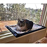 Cat Hammock Window Bed Perch Seat Sunny for Lager Cats Perches Furniture Two