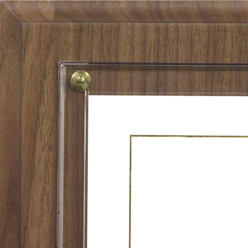 (Walnut Grove Slide-in Certificate Plaque and Document Holder (Walnut))