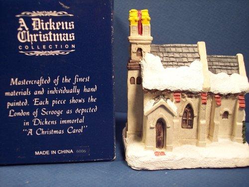 RSVP Int 1988 A Dickens Christmas 6006 Town Church
