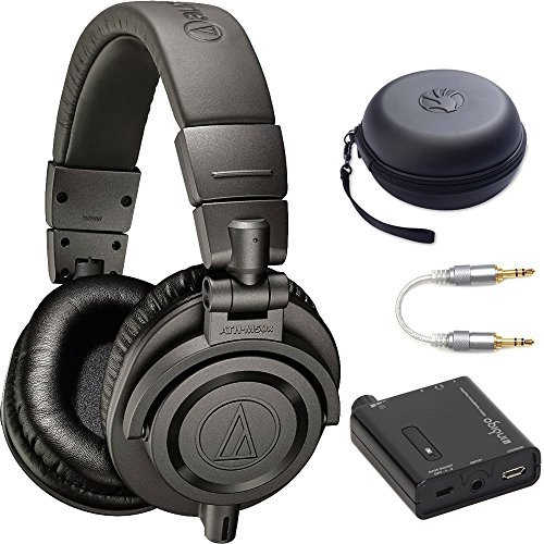 Audio-Technica ATH-M50X Dark Grey Professional Headphones - LIMITED SPECIAL EDITION Ultimate (Audio Technica Green)