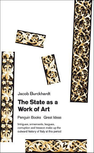 The State as a Work of Art (Penguin Great Ideas)