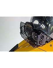 Ro-Moto Mesh Headlight Guard GS style compatible for BMW F650GS Twin, F700GS, F800GS, F800GS Adventure