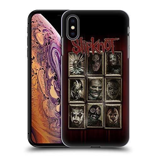 Official Slipknot Masks Key Art Hard Back Case Compatible for iPhone Xs Max]()
