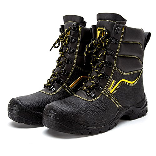amp;construction shoes proof Black shoes industrial safety puncture 49 toe steel work shoes unisex TwXYq