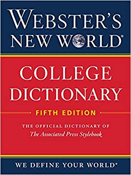 Webster's New World College Dictionary, Fifth Edition 9780544166066 Dictionaries & Thesauruses (Books) at amazon