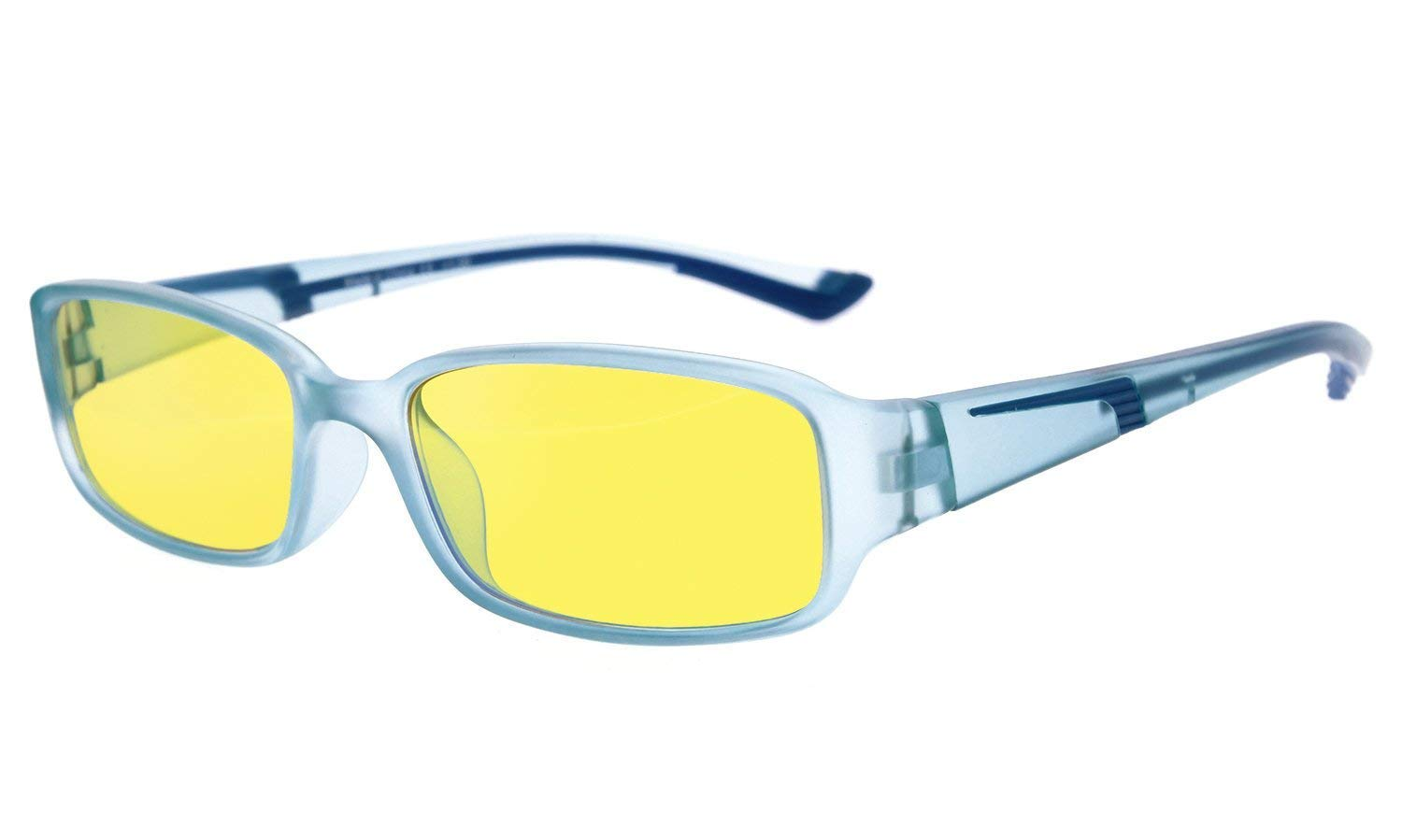 16077e9fbbbd Amazon.com: Eyekepper Anti Blue Light More Than 94% Computer Glasses,UV and  Computer/TV Electromagnetic Radiation Protection Eyeglasses, Yellow Tinted  Lens ...