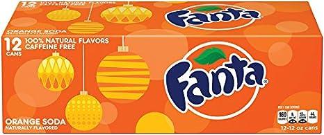 Is Fanta Orange soda caffeine free?