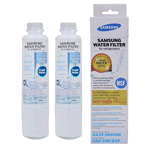 Price comparison product image Samsung DA29-00020B,  DA29-00020A,  HAF-CIN EXP Premium Refrigerator Water Filter (2-pack)