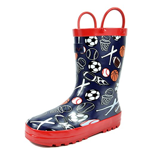 rain boots for boys size 4 - 4