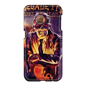 Bumper Hard Cell-phone Cases For Samsung Galaxy S6 With Provide Private Custom High-definition Megadeth Band Image AlissaDubois