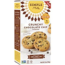 Simple Mills Naturally Gluten Free Crunchy Cookies, Chocolate Chip, 5.5 oz