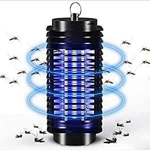 Bug Zapper Mosquito Trap Insect Killer - Indoor & Outdoor Insect Zapper Fly Trap - Fly Zapper Mosquito Killer Safe & Non-Toxic - Silent & Effortless Operation pest control - Electronic Insect Killer