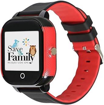 Reloj con GPS para niños Save Family Modelo Junior Acuático Negro ...