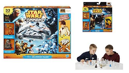 Star Wars command Millennium Falcon, Episode 3 The last battle play set bundle x2 -  Yes, Ea