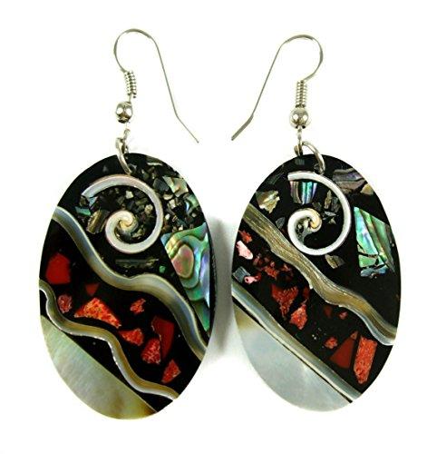 Oval Paua Shell (Handmade 2