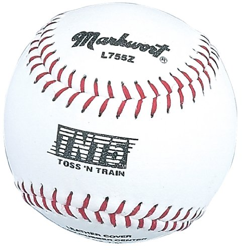 Markwort Toss 'n Train TNT Small 7 1/2-Inch Circumference Training Baseballs - Pack of 12 by Markwort